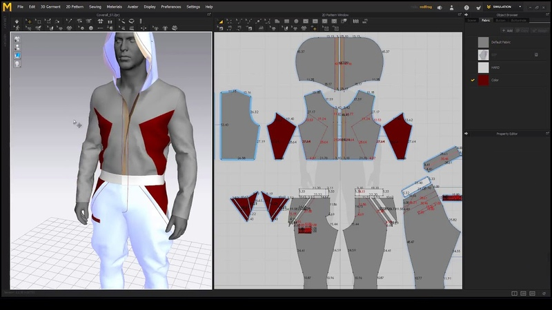 Making a Sci Fi Overall in Marvelous Designer 6.5 - Chapter 08