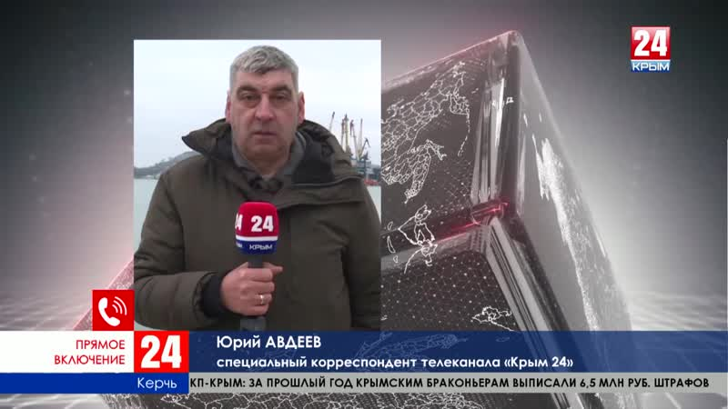 Поисково-спасательная операция в Керченском проливе завершена