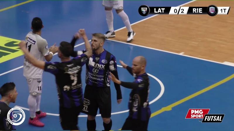 Serie A PlanetWin 365 Futsal | Lynx Latina vs Real Rieti Highlights