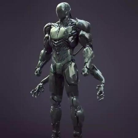 Bodyguard powersuit Spawn mk2