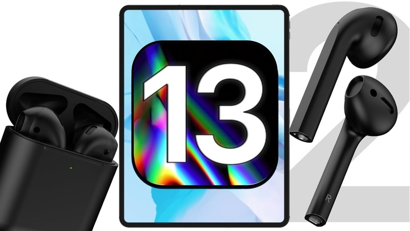 Apple слила черные AirPods 2, дата выхода iOS 13, iPad Mini 5 и iPad 2019
