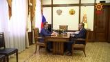 Глава Чувашии провел рабочую встречу с председателем думского Комитета