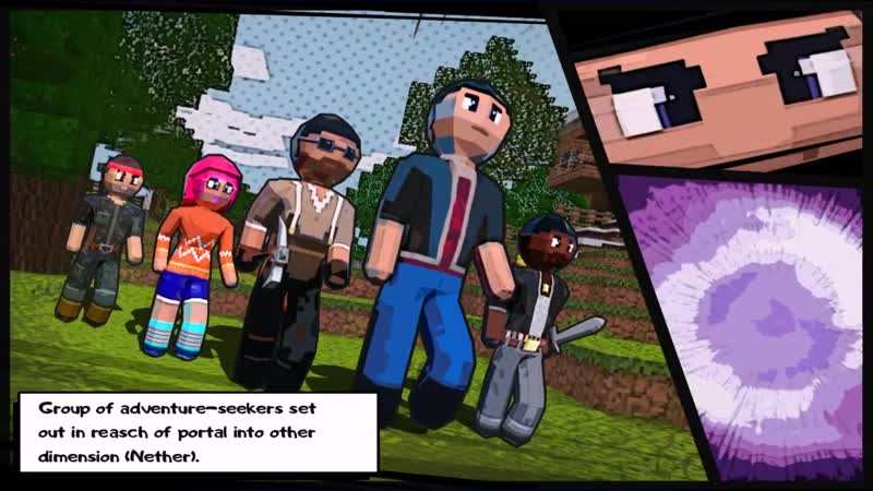 NEW! Comics Promo Video (RealmCraft Game - with Skins Export to Minecraft) ! SUPER