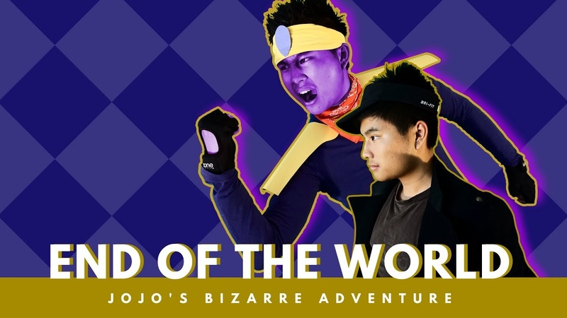 JoJo's Bizarre Adventure OP 4 -「~その血の記憶 end of THE WORLD~」Live Action Opening Parody