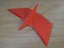 Динозавр Птеродактиль из бумаги оригами. Бумажный динозавр. Paper dinosaur Pterodactyl origami