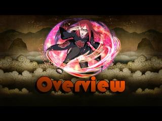 【Naruto Blazing】★6 Akatsuki Karin (Phantom Castle) - Overview