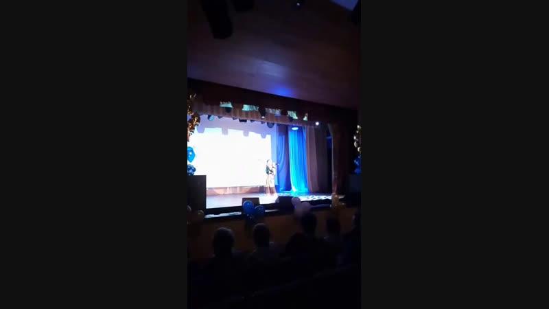 Алёна Киприна Школа интернат юбилей