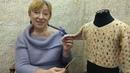 Вязание крючком для детей от О.С. Литвиной. Кофточка Морские камушки