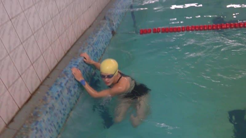 Алина Колос., 50 м, брасс, 1 занятие