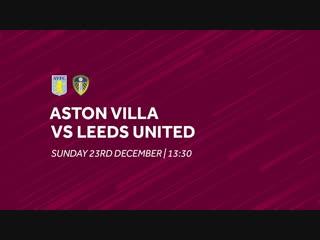 Aston villa vs. leeds united _ extended highlights