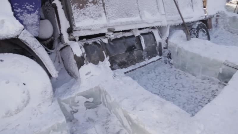 Полюс Холода - 10. Дороги севера. Провалившиеся под лёд КамАЗы. Экспедиция на Toyota Land Cruiser