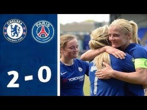 Chelsea 2 - 0 PSG - Match highlights - Champions League Quarter-final ( 21st March 2019)