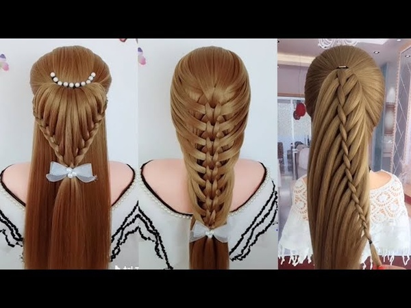 Easy Hair Style for Long Hair | TOP 26 Amazing Hairstyles Tutorials Compilation 2018 | Part 130