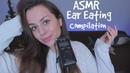 АСМР Интенсивные звуки рта TASCAM 👅 Поедание ушек | АСМР для Сна и Расслабления