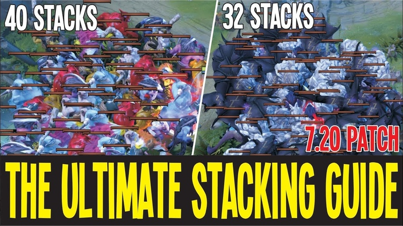 The Ultimate Stacking Guide 7.20 Patch New Map | Dota 2 Tips and Tricks