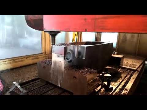 Механическая обработка матрицы для штамповки отводов