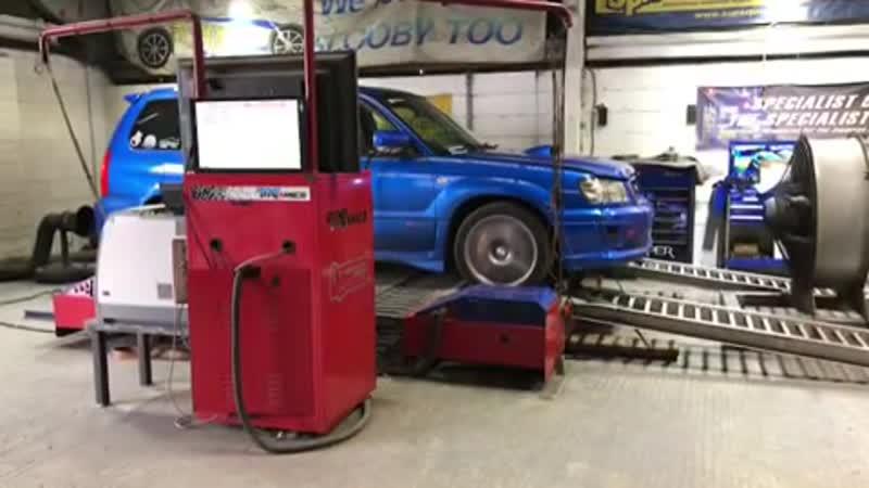 Dyno test Subaru Forester STI