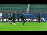 «Локомотив» тренируется перед матчем с «Шальке»