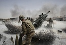Afghanistan War US Artillery in Afghanistan M777 and M119 Howitzers Fire At Taliban Positions