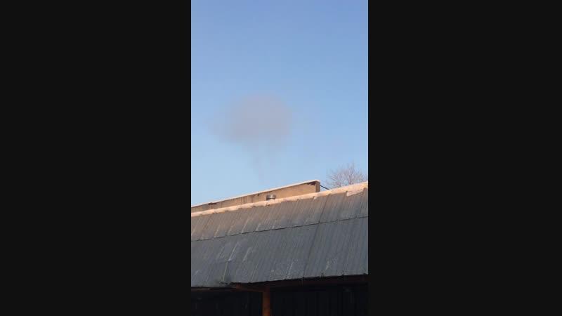 Трубы дымят в частом секторе Среднеуральска
