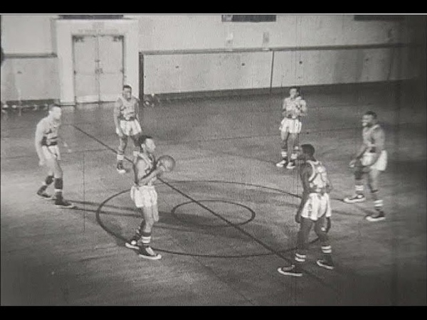 Harlem Globetrotters 1956 Promotional Reel - 8mm film