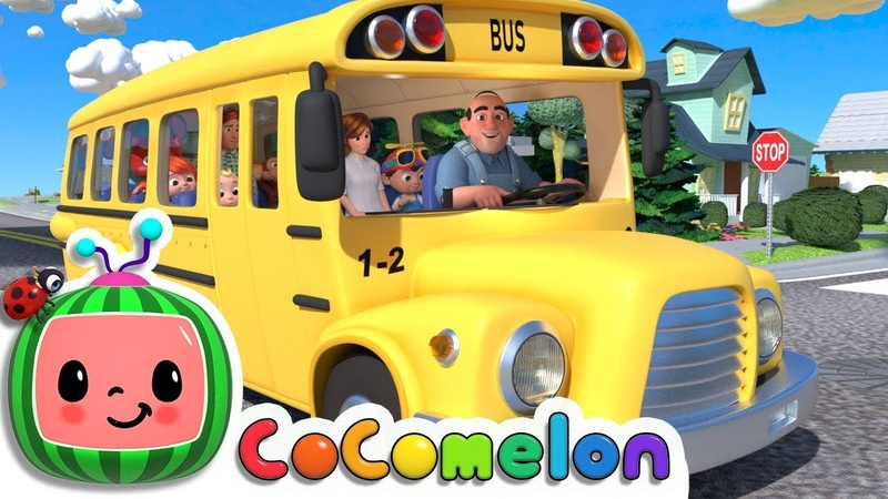 Wheels on the Bus   Cocomelon (ABCkidTV) Nursery Rhymes Kids Songs