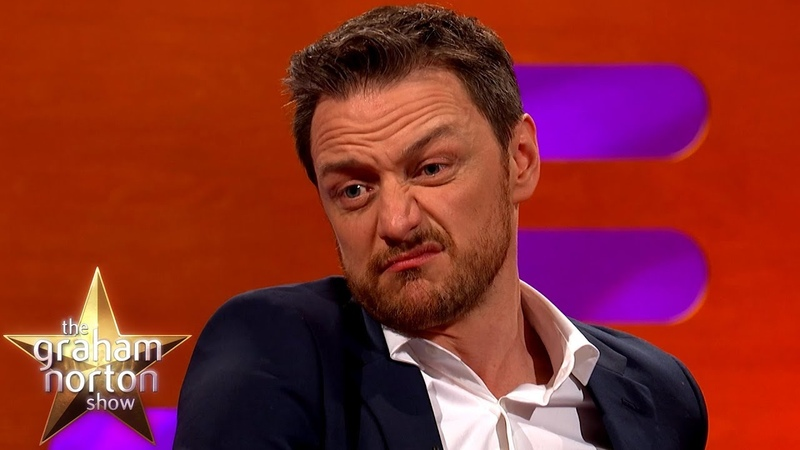 James McAvoy Used His Grandad's Razor To Shave His Balls