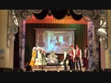 Староибрайкинский СДК на сцене районного Дома культуры на конкурсе фольклорных коллективов