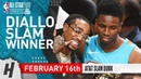 Hamidou Diallo Wins 2019 NBA All-Star Slam Dunk Contest - February 16, 2019 | Full Highlights