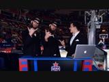#CSKAbasketShow Сергей Быков, S-Brother-S, DJ Катя Гусева и Андрей Лопатин