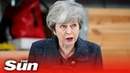 Theresa May: 'If the Brexit deal fails then we may never leave'