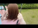 Boy to girl │ Go to the park after crossdressing.
