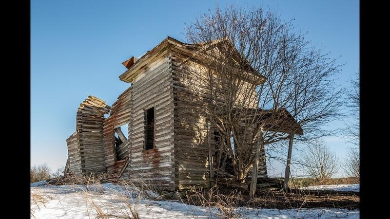 Заброшенная Церковь 1912 года. Деревня Ватчела. Карелия.