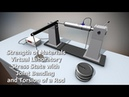 Strength of Materials VirtLab - Stress State with Joint Bending and Torsion of a Rod