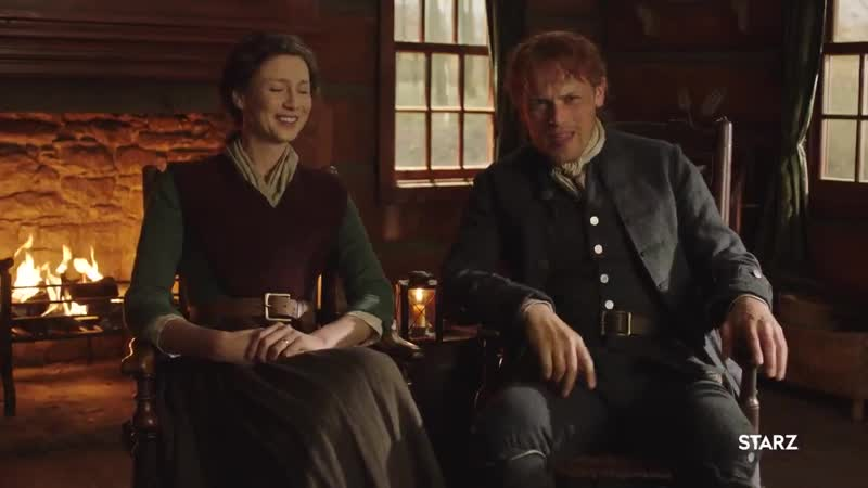 We are LIVING for caitriona balfes impersonation of sam heughan