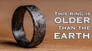 My 4,566,300,000 Year Old Ring - crafted from a Swedish Meteorite
