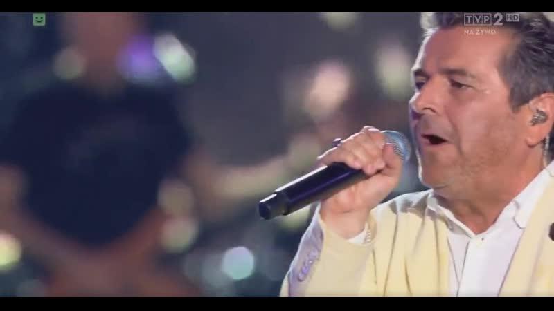 Thomas Anders You Can Win If You Want Lato Muzyka Zabawa Wakacyjna Trasa Dwójki 21 07 2019 TVP2