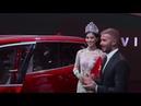 An awkward David Beckham launches Vietnams first car manufacturer days after swerving speeding charg