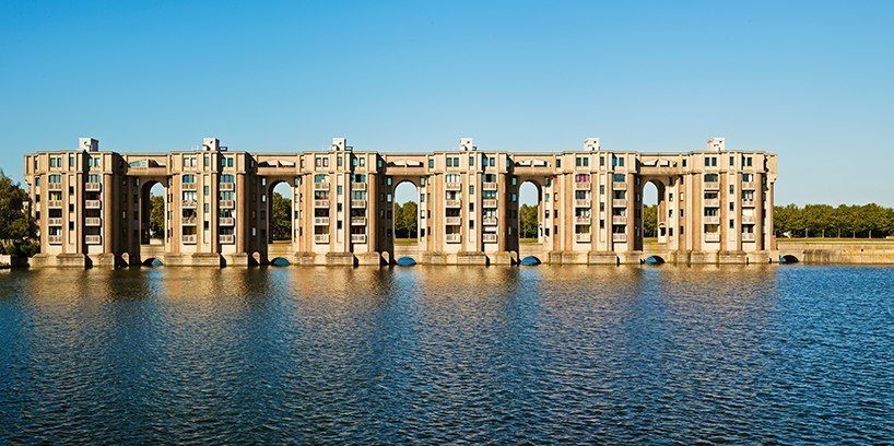 discover the residential complex that ricardo bofill laid out like a french formal garden