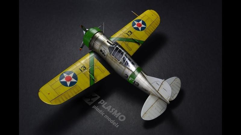 Brewster F2A Buffalo Tamiya 148 - Aicraft Model