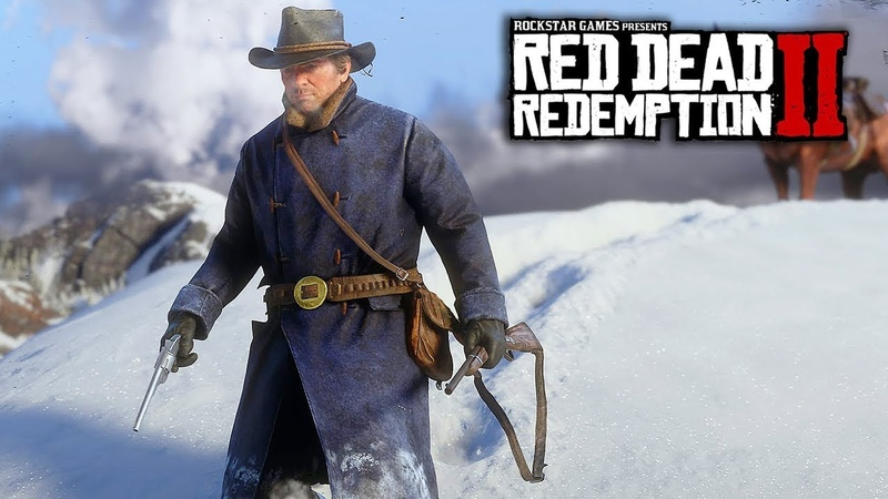 Red Dead Redemption 2 - HUGE INFO! 60 Hour Story, Romance, Native Americans Gameplay Features!