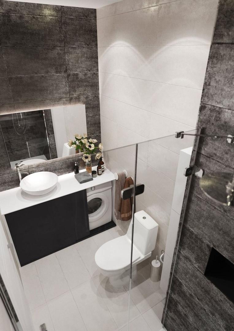 Проект квартиры-студии 23 кв.