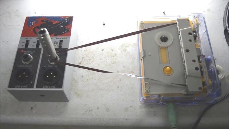 Drone tape loops in walkman mod