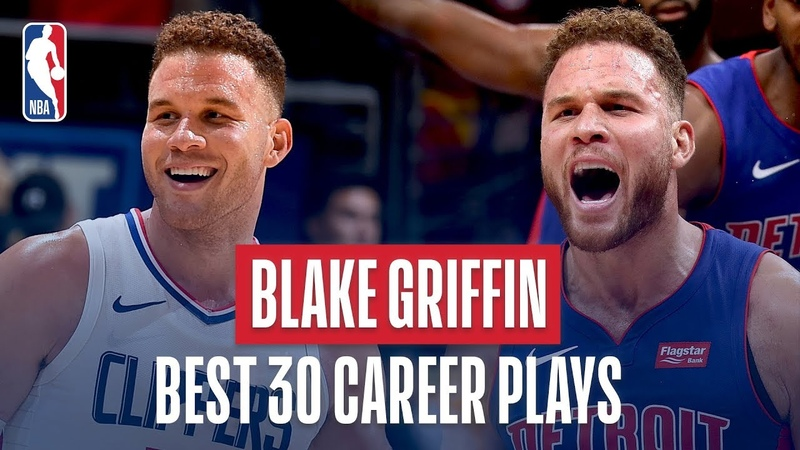 Blake Griffin's Best 30 Plays Of His Career