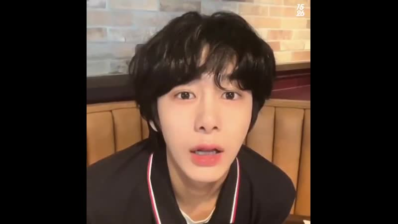 Hyungwon such a baby