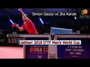 Simon Gauzy vs Jha Kanak I 2018 ITTF Men's World Cup I Full Match