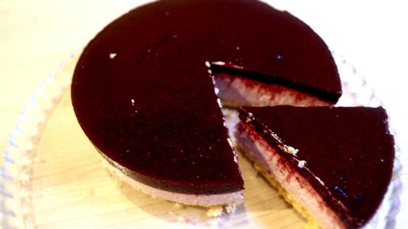 Торт без выпечки Йогуртовый торт