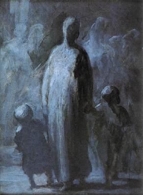 История одного шедевра. «Мама», Оноре-Викториан Домье
