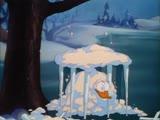 Снежное побоище Дональда. Новогодние мультфильмы. Дисней.