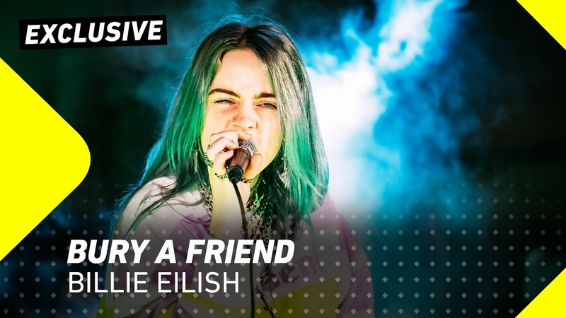 Billie Eilish - Bury a friend | 3FM Exclusive | 3FM Live